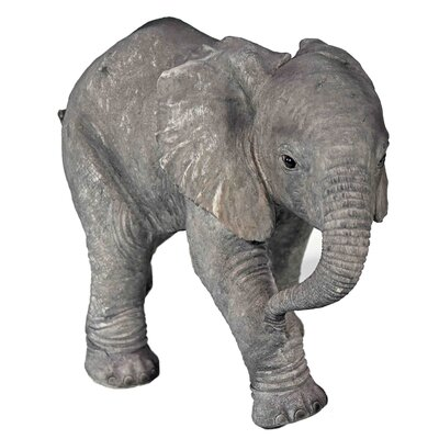 House Additions Small Elephant Decorative Figure