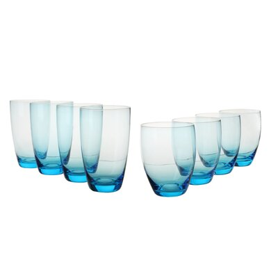 House Additions Glass Set in Light Blue