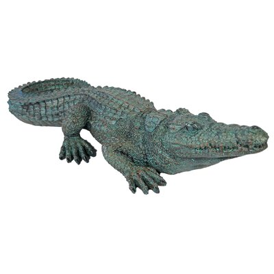 House Additions Crocodile Decorative Figure