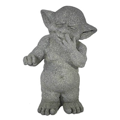 House Additions Kobold with Finger in the Nose Decorative Figure