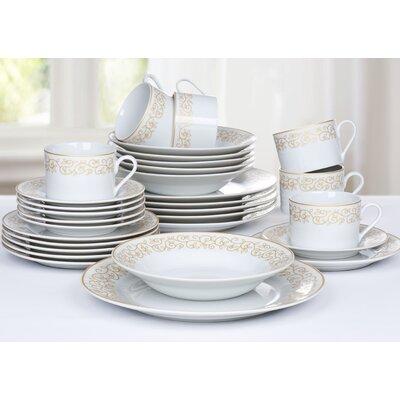 House Additions 30-Piece Dinnerware Set