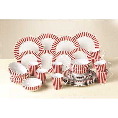 House Additions 32-Piece Dinnerware Set