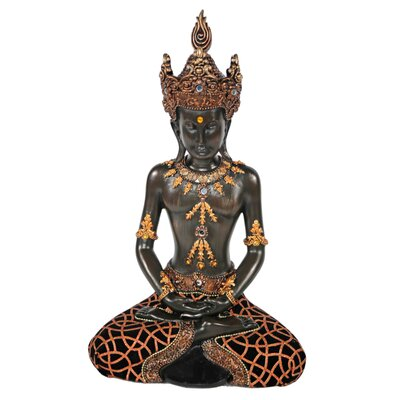 House Additions Thai-Buddha in the Lotus Position Statue