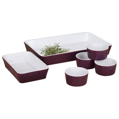 House Additions 6-Piece Baking Pan Set
