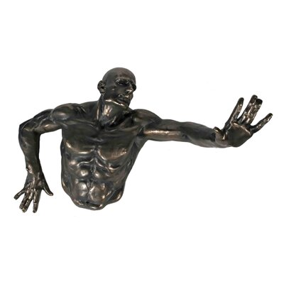 House Additions Expressive Men Sculpture