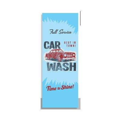 House Additions Vintage Carwash 2.5m L x 95cm W Roll Wallpaper