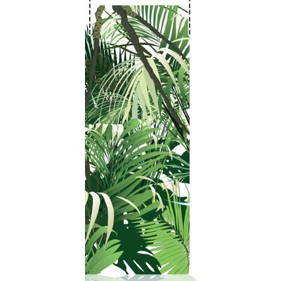 House Additions Multi Strips Jungle 2.5m L x 95cm W Roll Wallpaper