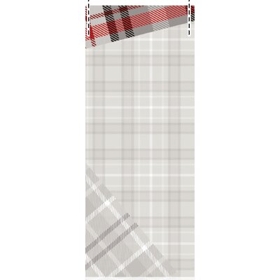 House Additions Multi Strips Tartan 2.5m L x 95cm W Roll Wallpaper