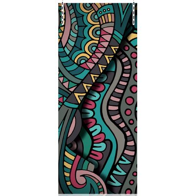 House Additions Multi Strips MT Ethnic 2.5m L x 95cm W Roll Wallpaper