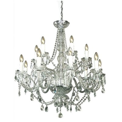 House Additions Yuryuzan 1 Light Candle Chandelier
