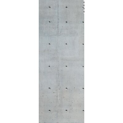House Additions Multi Strips Concrete 2.5m L x 95cm W Roll Wallpaper