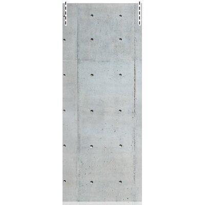 House Additions Multi Strips Concrete 2.5m L x 95cm W Roll Wallpaper