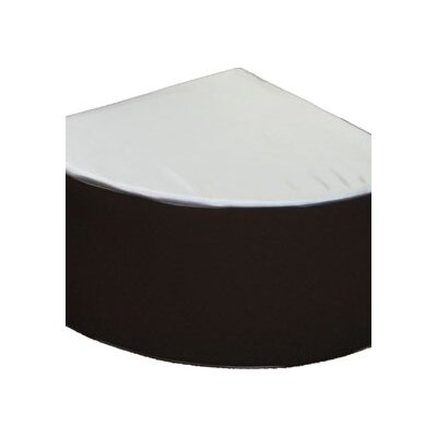 House Additions Wedge Pouffe Ottoman