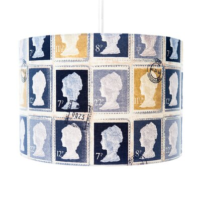 House Additions Stamp Drum Pendant