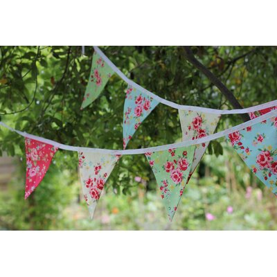 House Additions Old World Flora Bunting Wall Décor