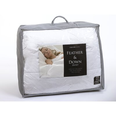 House Additions Genuine Duck Feather and Down 10.5 Tog Duvet