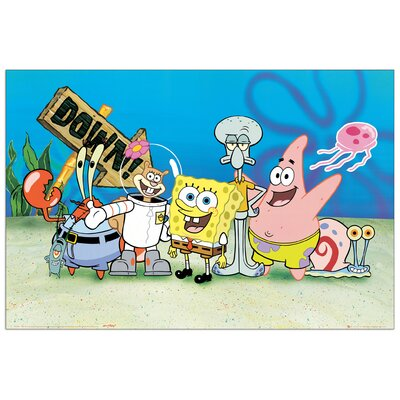 House Additions SpongeBob Graphic Art Plaque