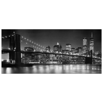 House Additions 'Brooklin Bridge' by Silberman  Photographic Print Plaque