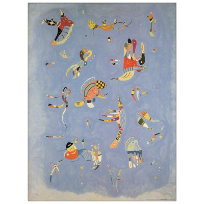 House Additions 'Cielo Blu' by Kandinsky Graphic Art Plaque