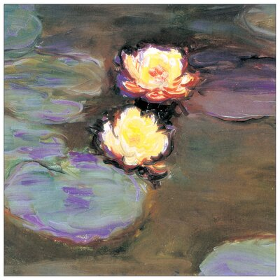 House Additions 'Nimpheas Detail' by Monet Art Print Plaque