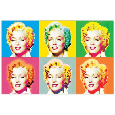 """House Additions """"Visions of Marilyn"""" by Boulter Graphic Art Plaque"""
