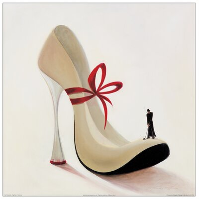"""House Additions """"Highheels Romance"""" by Panasenko Graphic Art Plaque"""
