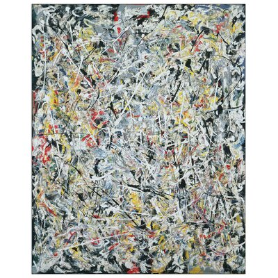 House Additions 'White Light' by Pollock Art Print Plaque