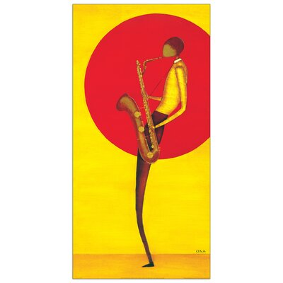 House Additions 'Jazz Man II' by Ona Art Print Plaque