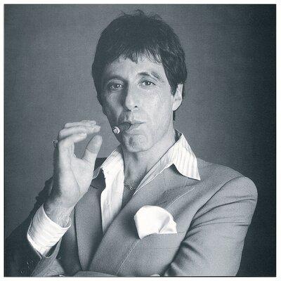 House Additions Al Pacino  Photographic Print Plaque