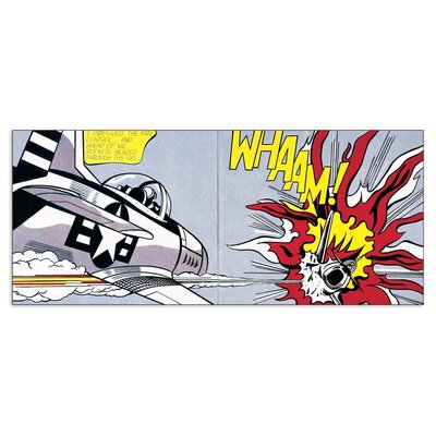 House Additions 'Whaam!' by Lichtenstein Graphic Art Plaque