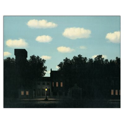 House Additions 'L Impero Delle Luci' by Magritte Photographic Print Plaque