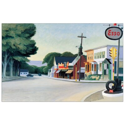 House Additions 'Portrait of Orleans 1950' by Hopper  Art Print Plaque