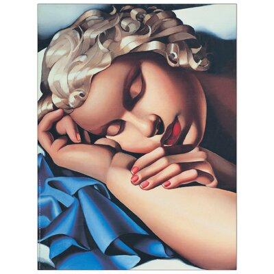 "House Additions ""La Dormiente"" by De Lempicka Art Print Plaque"