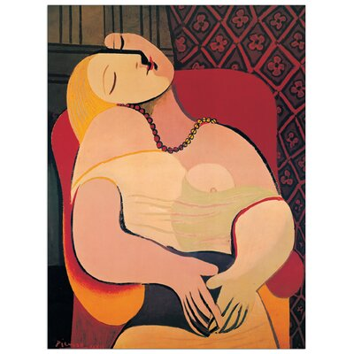 House Additions 'The Dream' by Picasso Art Print Plaque