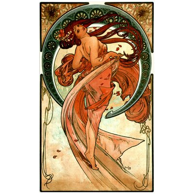 """House Additions """"Dance"""" by Mucha Art Print Plaque"""