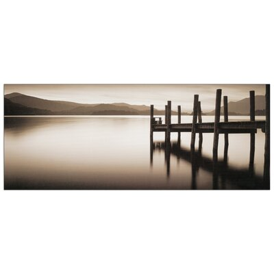 """House Additions """"Landing Stage Denwent Water"""" by Shephers Photographic Print Plaque"""