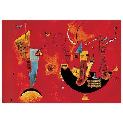 House Additions 'Con E Contro' by Kandinsky Art Print Plaque
