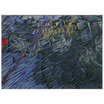 House Additions 'States of Mind II' by Boccioni Graphic Art Plaque