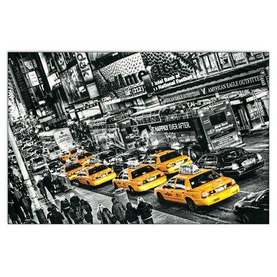 House Additions 'Cabs Queue' by Michael Feldmann Graphic Art Plaque
