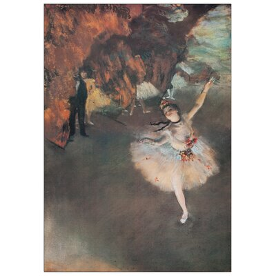 House Additions 'The Star' by Degas  Art Print Plaque