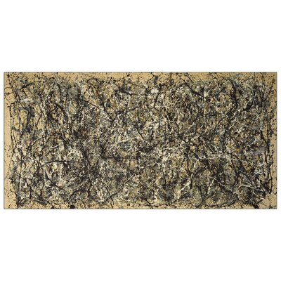 House Additions 'One Number 31, 1950' by Pollock Art Print Plaque