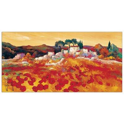 House Additions 'Provence Dorée' by Keiflin  Art Print Plaque