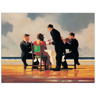 House Additions 'Elegy for a Dead Admiral' by Vettriano Art Print Plaque