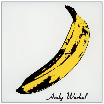 House Additions 'Banana' by Warhol Graphic Art Plaque
