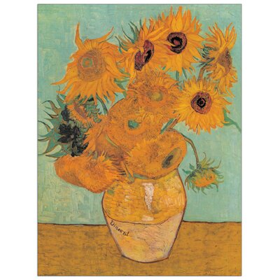 House Additions 'Sunflowers 2' by Van Gogh Art Print Plaque