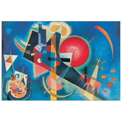 "House Additions ""Im Blau"" by Kandinsky Art Print Plaque"