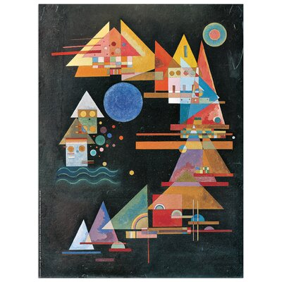 House Additions 'Picchi in Arco' by Kandinsky Art Print Plaque
