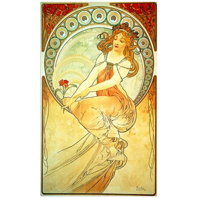 "House Additions ""Painting"" by Mucha Art Print Plaque"