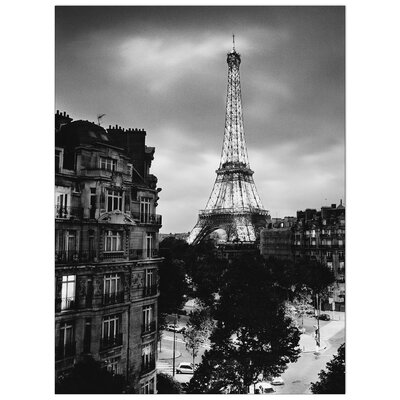 House Additions 'Eiffel Tour Evening' by Silberman  Photographic Print Plaque