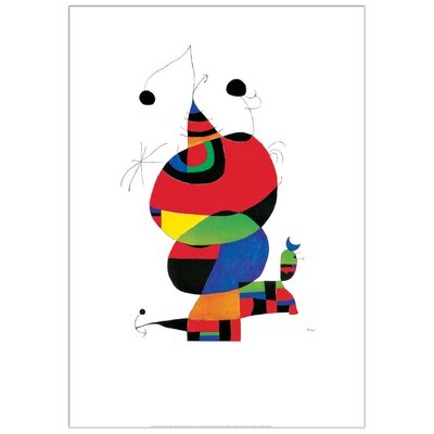 House Additions 'Hommage an Picasso' by Miro Graphic Art Plaque
